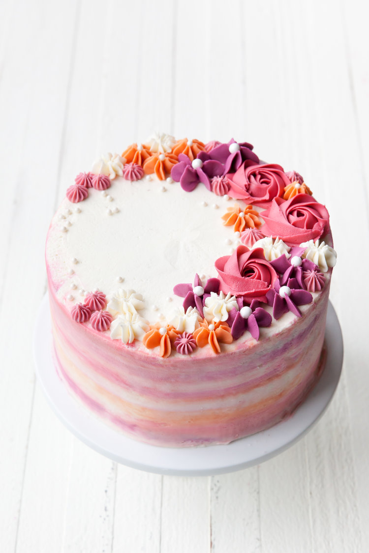CAKE DECORATING/BUTTERCREAM BASICS Apr 6, 2020