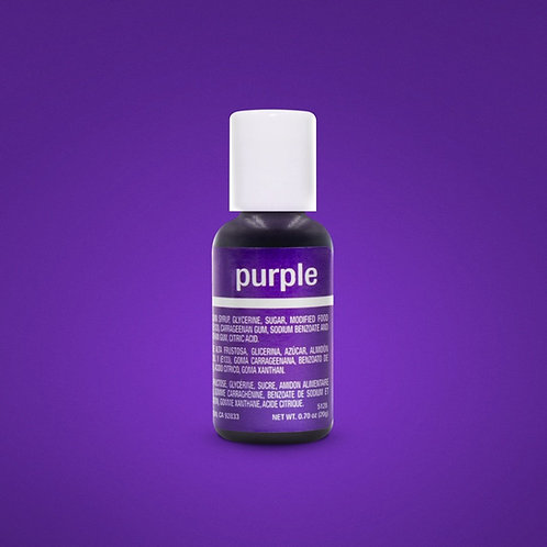 Purple Liqua-Gel Food Coloring 20ml