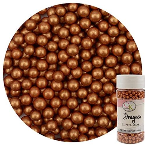 Copper 5 mm Dragees