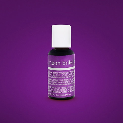 Neon Brite Purple Liqua-Gel Food Coloring
