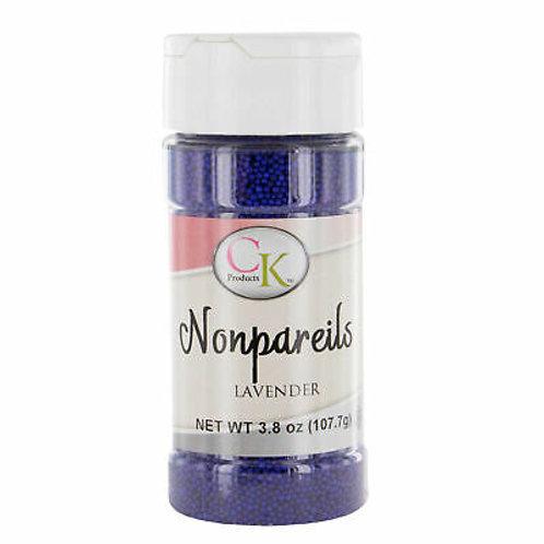 Dark Lavender Nonpareils, 3.8 oz.