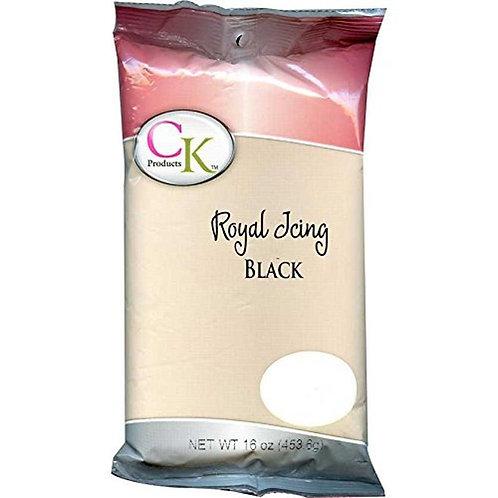 Black Royal Icing, 16 oz