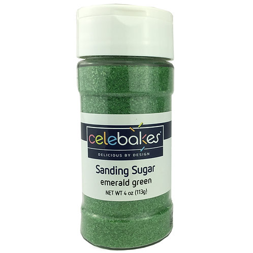 Emerald Green Sanding Sugar, 4 oz