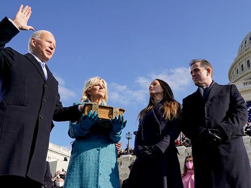Πρόσωπα και στιγμές από την ορκωμοσία του 46ου Πορέδρου των ΗΠΑ, Joseph Robinette Biden Jr.