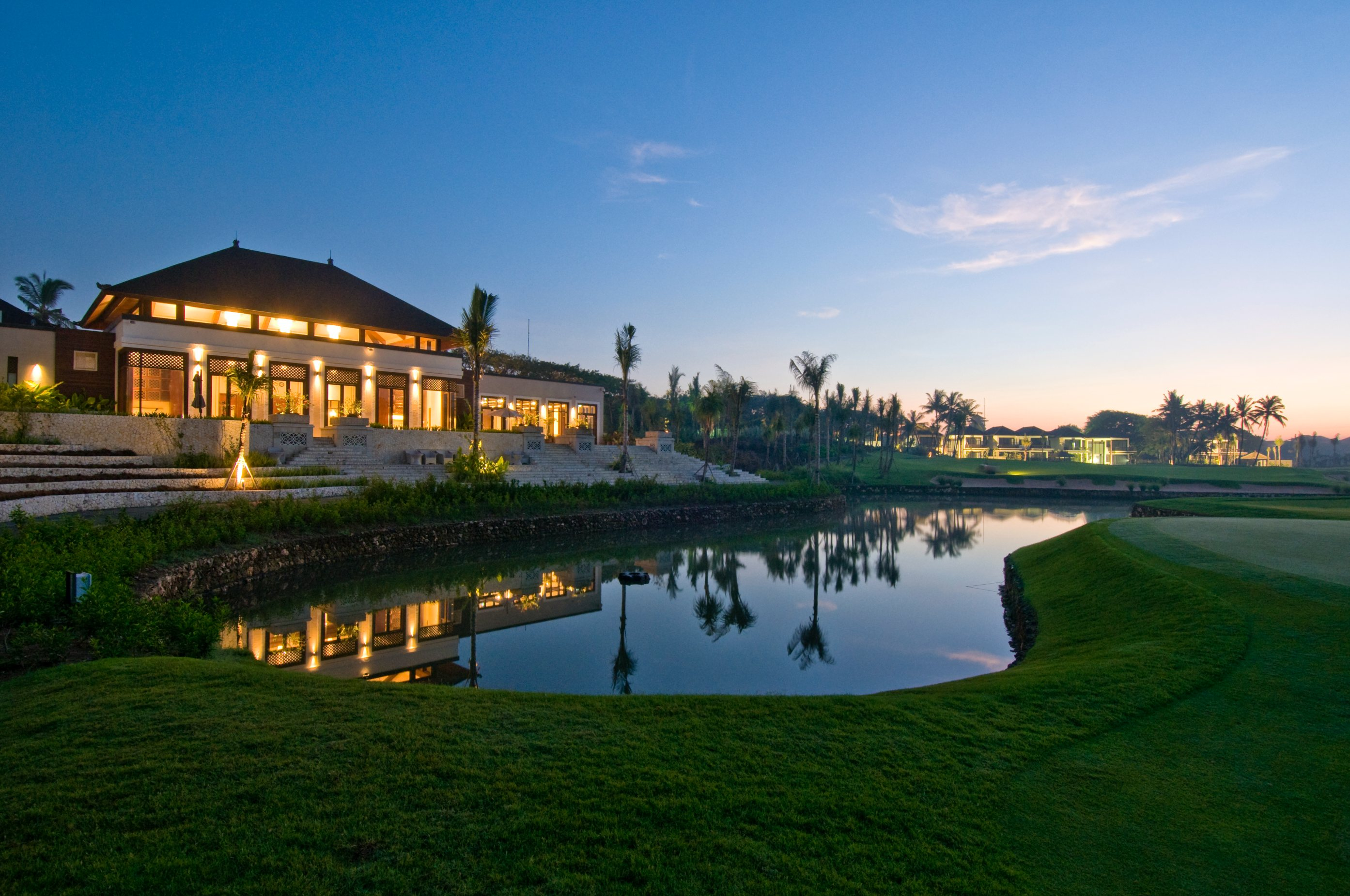 Bali National Clubhouse at nightCopy