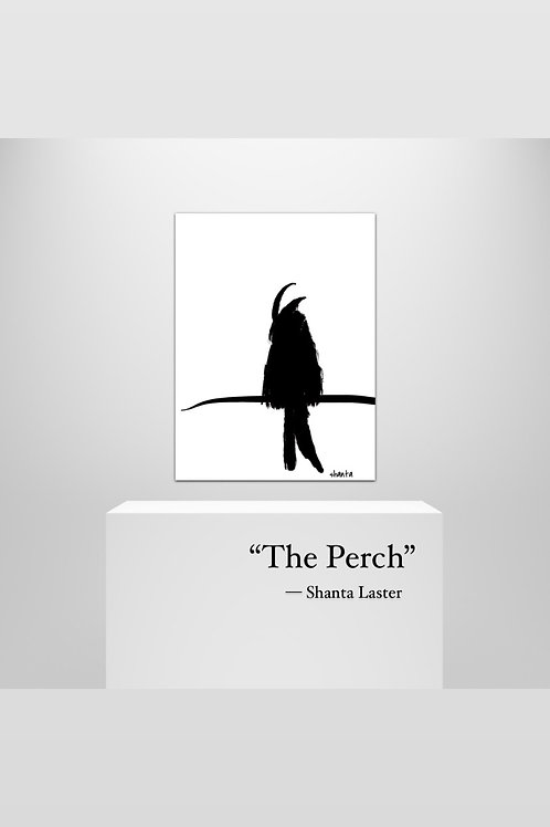 """""""The Perch"""" - 16x24"""" on Canvas Art"""