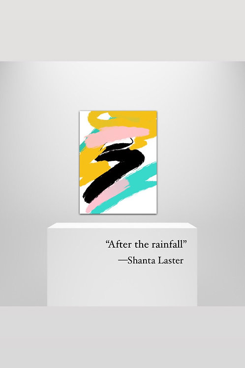 """""""After the rainfall"""" - 20 x 30"""" on Canvas Art"""