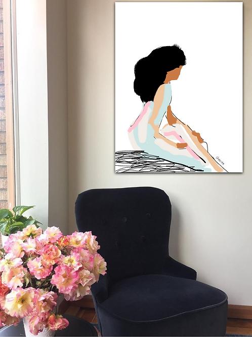 """""""Marla II"""" - A simple portrait"""