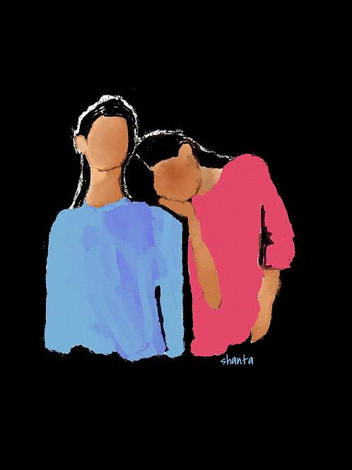 """Sisters"" - Digital Print Only"