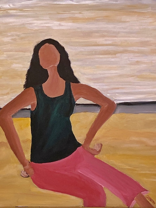 """""""Hannah II"""" - 16x20"""" original painting"""