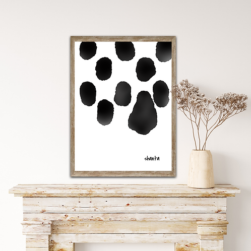 """Spots I"" - 16x24"" on Canvas Art"