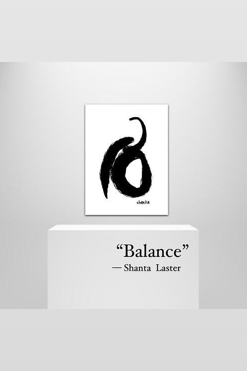 """Balance"" - 20 x 30"" on Canvas Art"