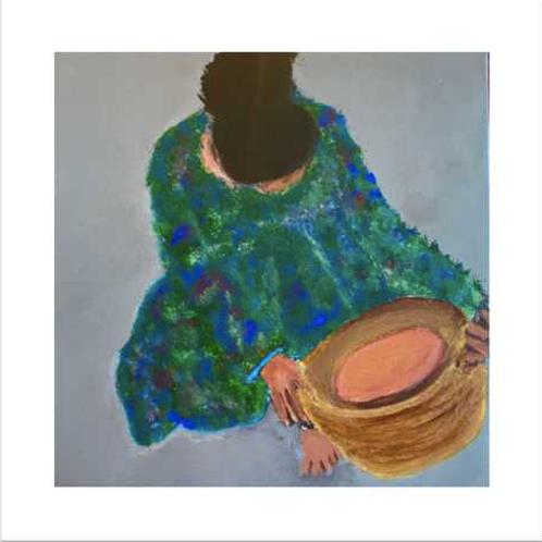 """""""Lydia III""""- 16x16"""" Giclee Print"""