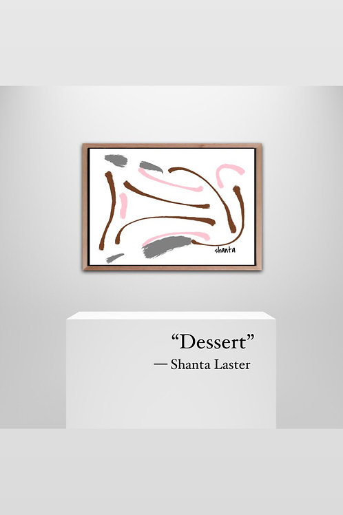 """Dessert"" - 18x24"" with Frame"