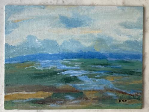 """Landscape 3.0 - Original 9x12"""" painting"""