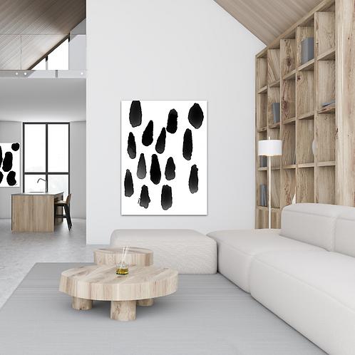 """""""Spots II"""" - 16x24"""" on Canvas Art"""