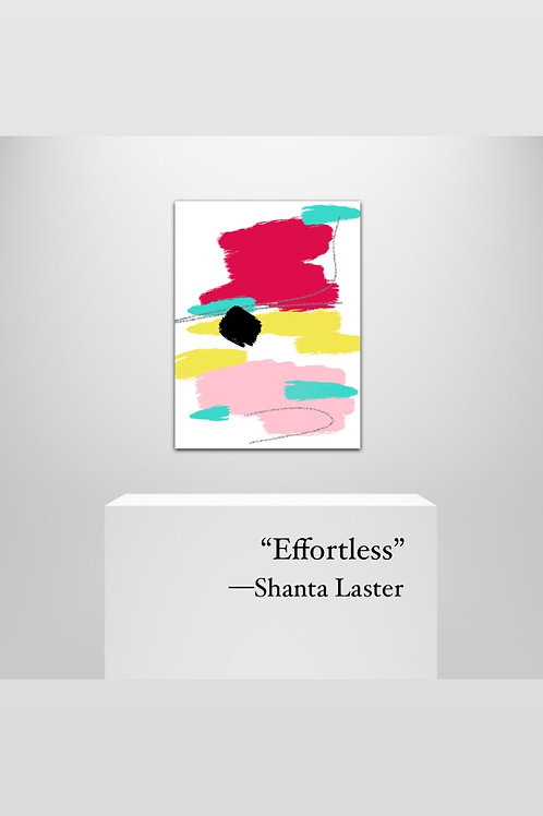 """Effortless"" - 20 x 30"" on Canvas Art"