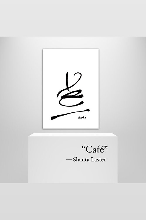 Café Digital Print
