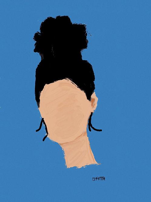 """""""A Portrait"""" by Shanta"""