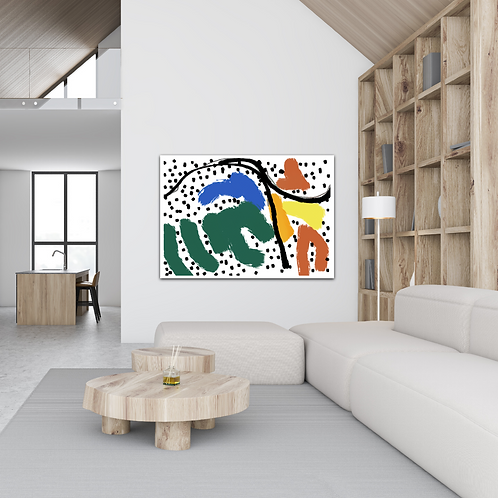 """Safari"" - Bold Canvas Print"
