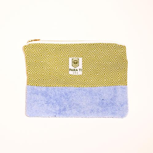 Bag-in-bag olive-blue