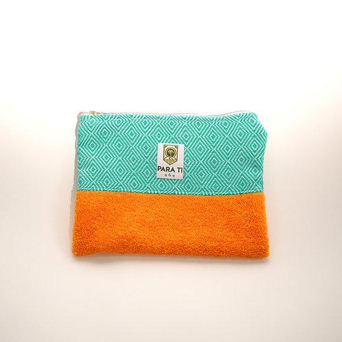 Bag-in-bag mint-orange