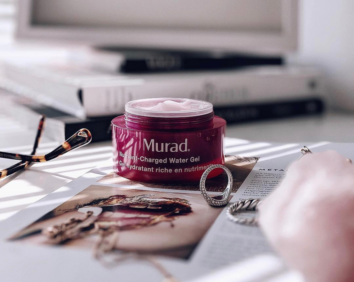 Skincare product photography