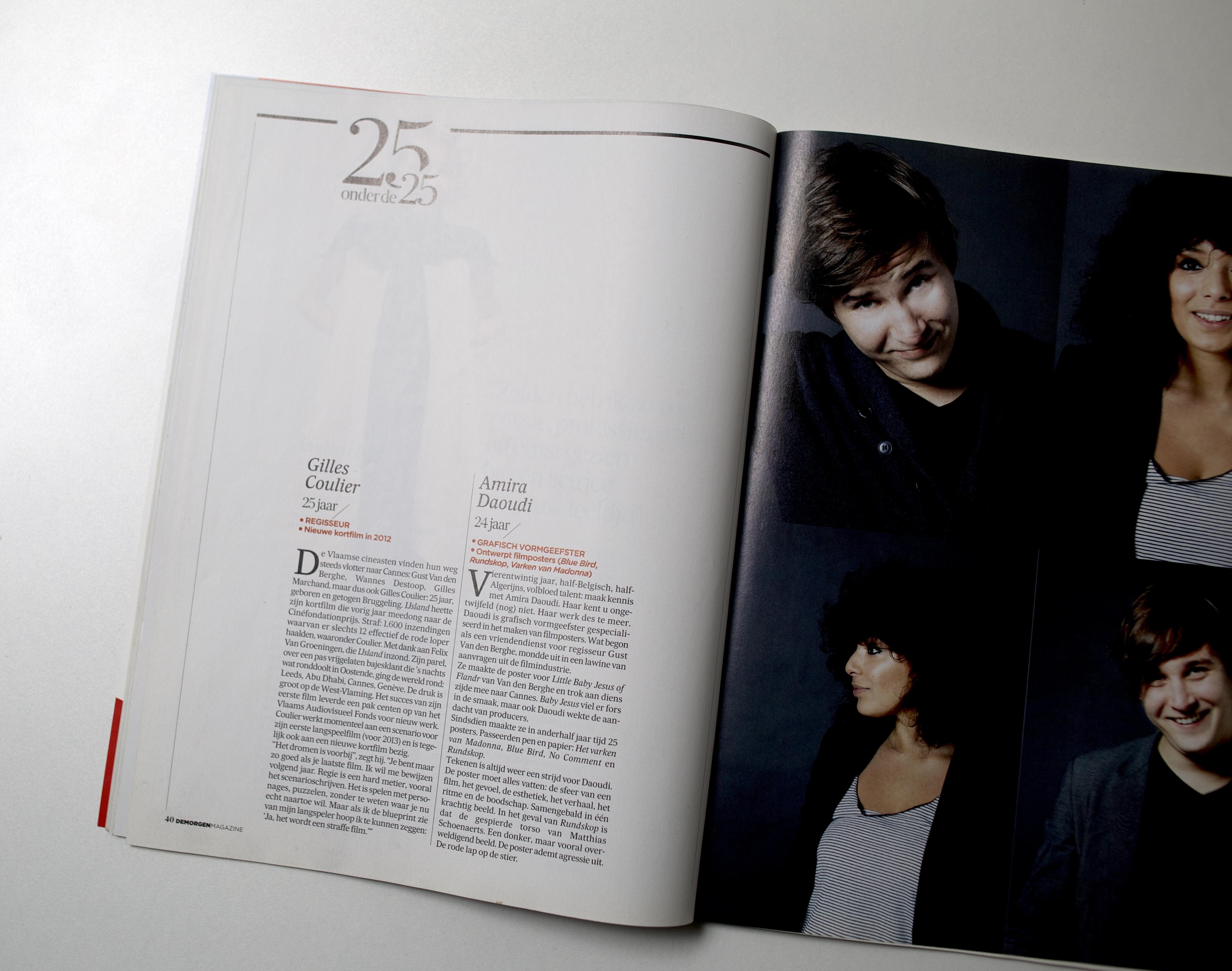 De Morgen Magazine (3 december 2011)
