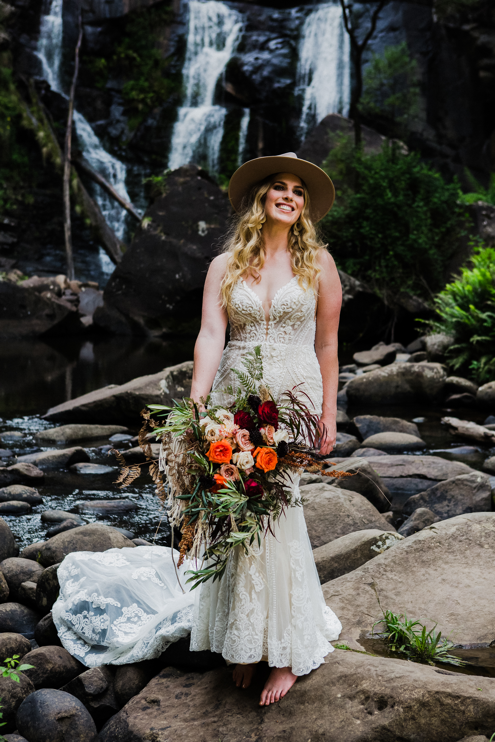 Boho Bridal Shoot SF 2018 Fabi Photograp