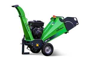 cs100 4 inch petrol greenmech wood chipper
