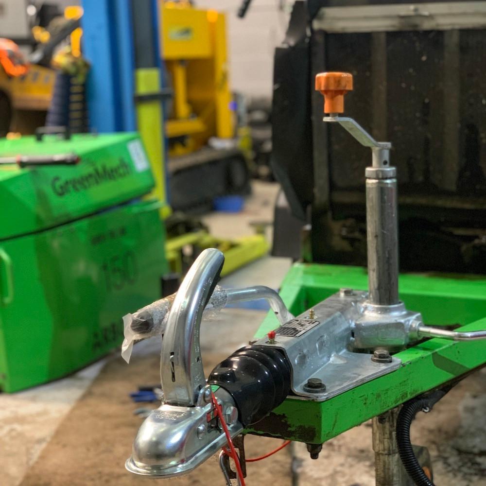 Greenmech Arb150 wood chipper service arbgear