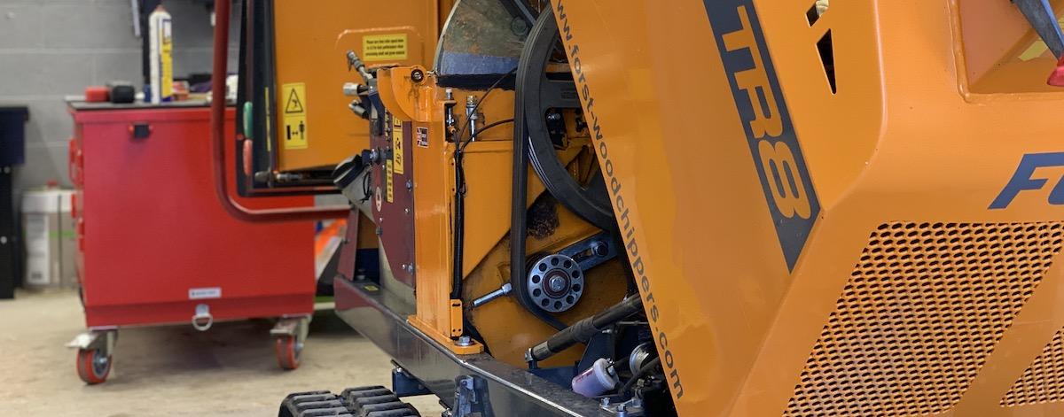 Forst TR8 service at Arbgear