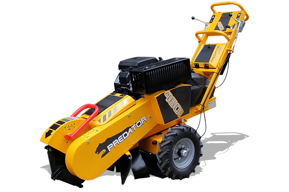 Predator 460i stump grinder