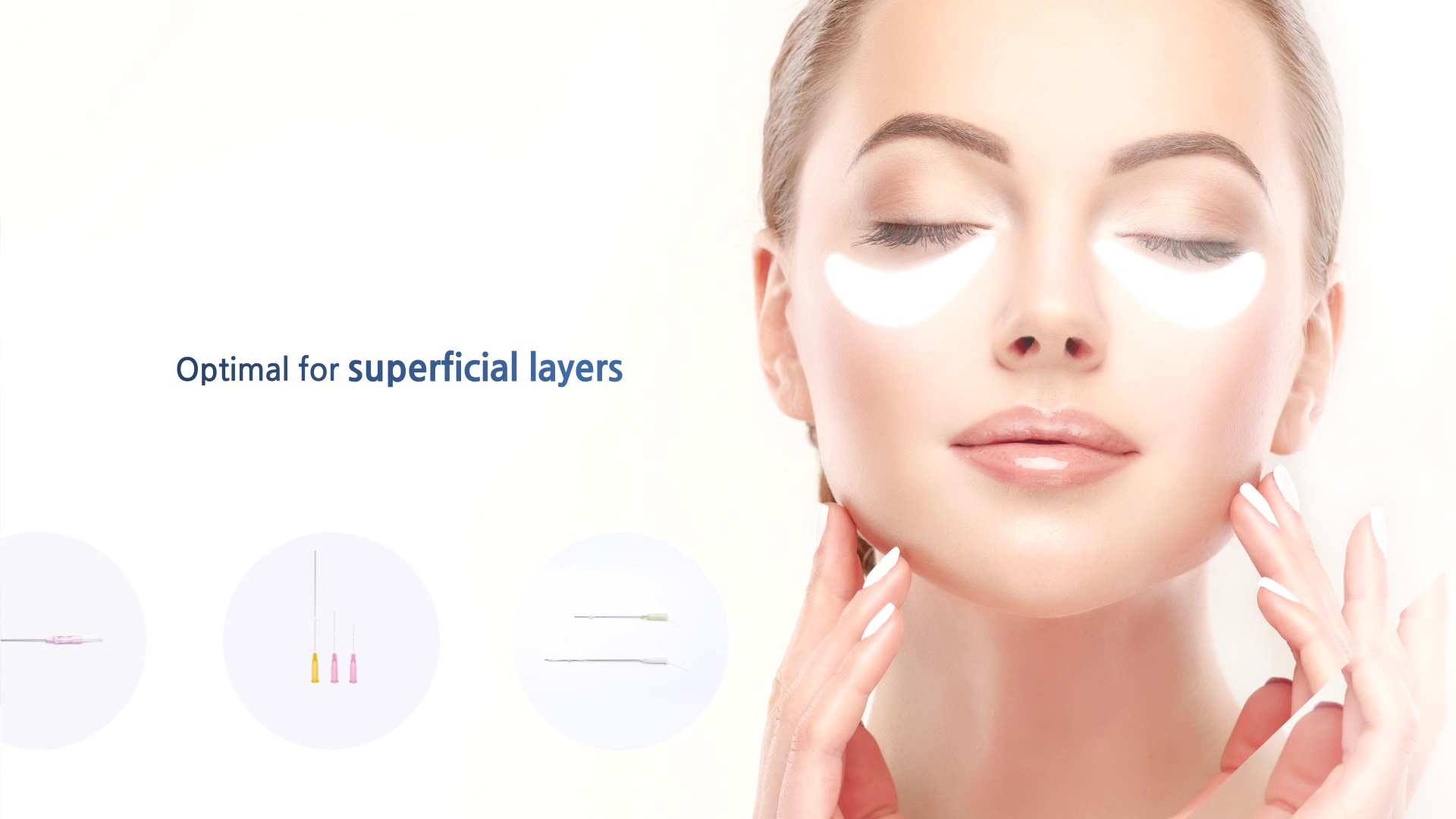 optimal for superficial layers