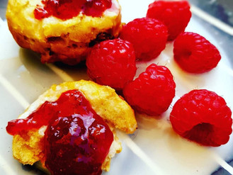 Afternoon Tea vegan scones