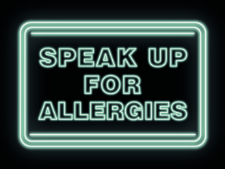"""FSA  encourages young people to """"Speak Up for Allergies"""""""