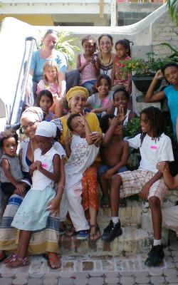 Maria with children