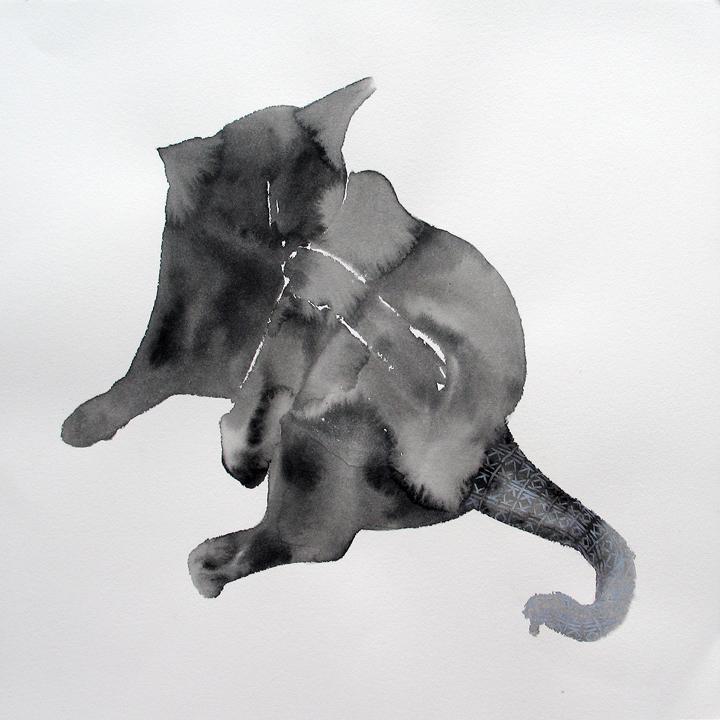 Logo Creature, House Cat, Incomplete Presentation #1 SM