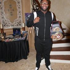 Heavy Weight Champ Trevor Bryan