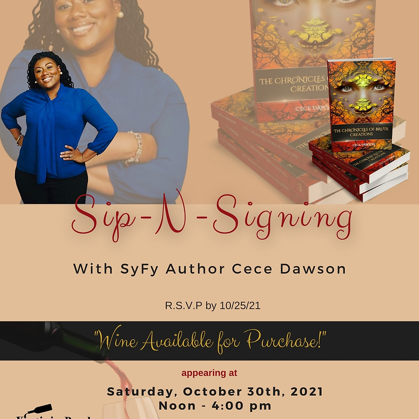 Sip-N-Signing with Author Cece Dawson
