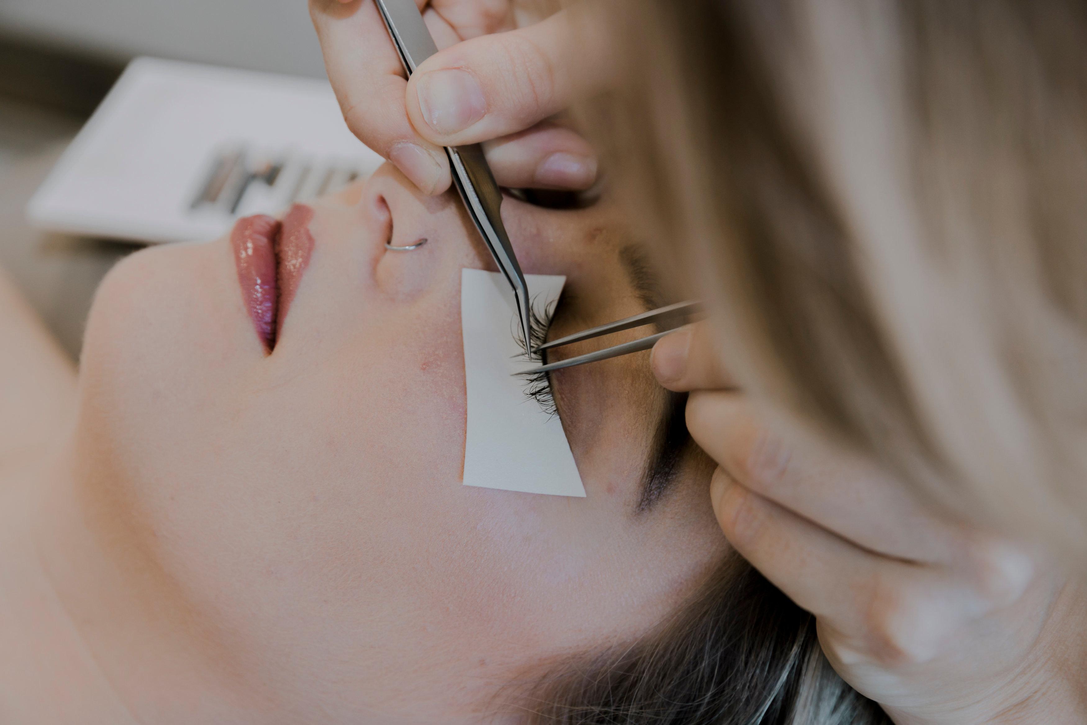 Mixed Tray CC Curl PBT Synthetic Silk Eyelashes