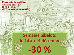 -30% sur les Bibelots