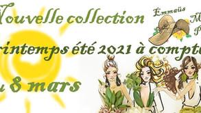 Nouvelle Collection printemps-été 2021