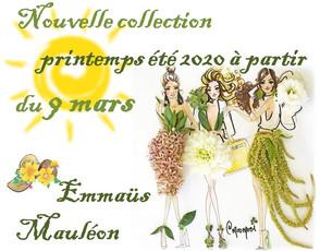 Nouvelle Collection printemps-été 2020