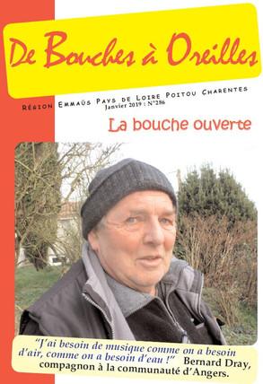 Bouches à Oreilles N°286 - Janvier 2019