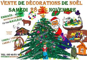 Le samedi 28 novembre, c'est Noël !!!