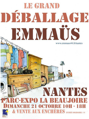 Dimanche 21 octobre : salon Régional de Nantes