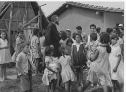 1958-59 avec enfants Amsud Bolivie