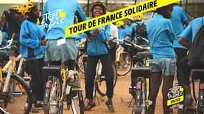 Le Tour de France solidaire avec Emmaüs