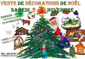Le samedi 2 novembre, c'est Noël !!!